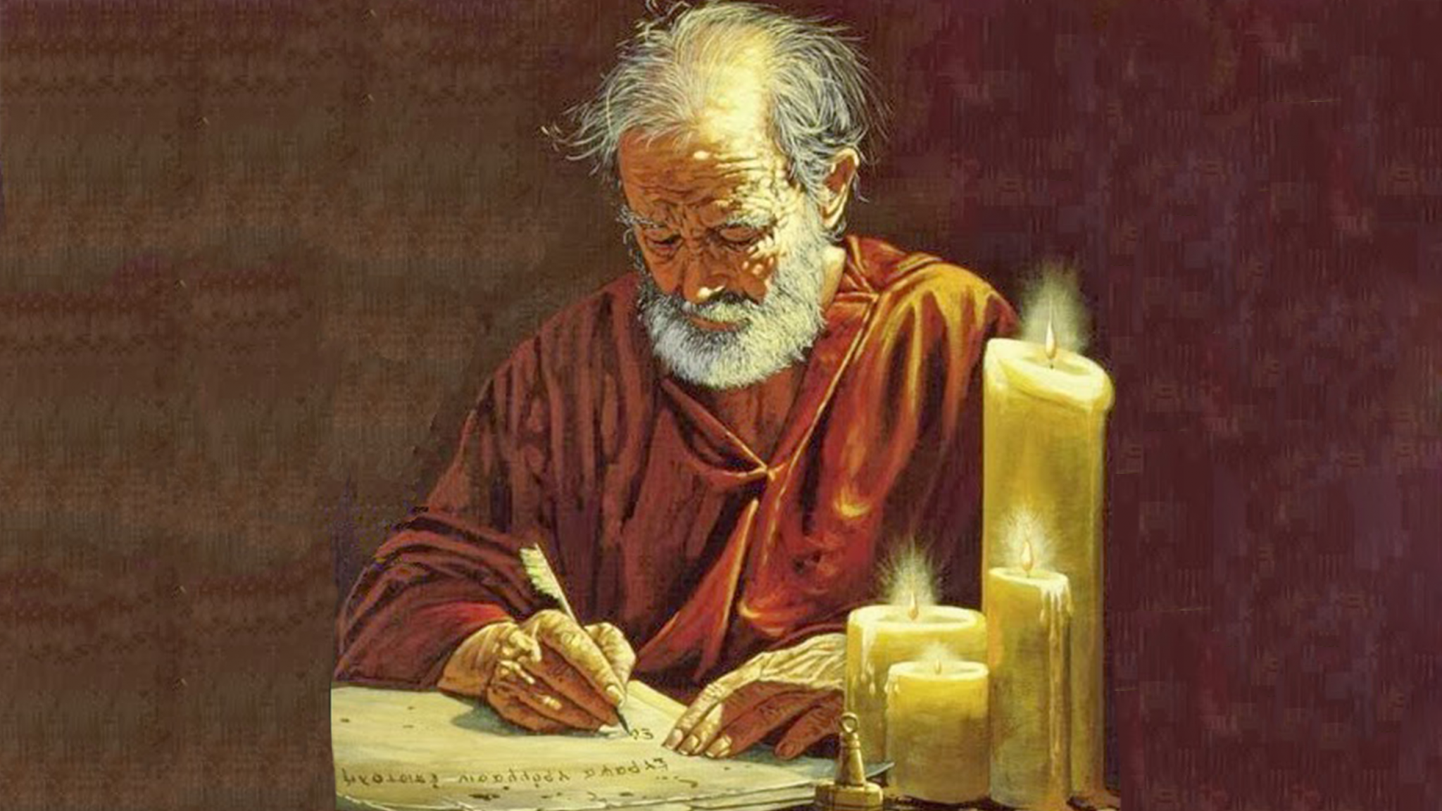 Image result for paul writing letters
